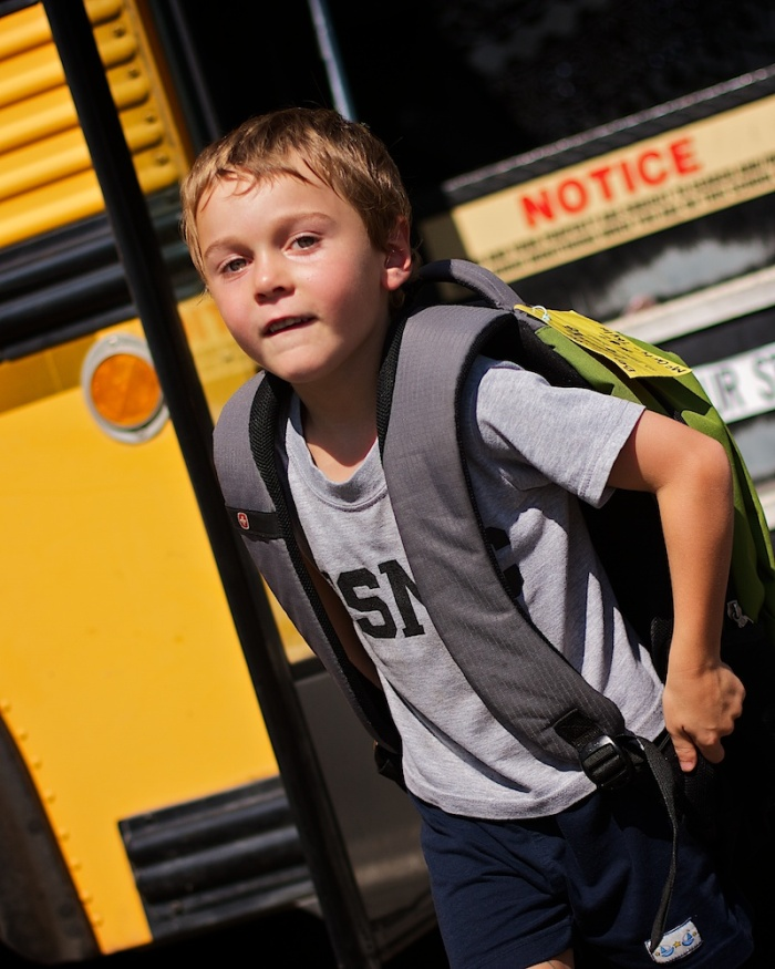 School days for Benjamin